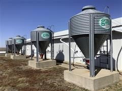 Gillis Ag Systems 2.5 Ton Bulk Bins