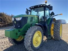 2014 John Deere 6190R MFWD Tractor