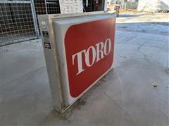 Toro Lighted Sign