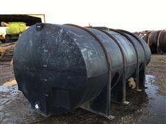 Snyder 2500 Gallon Black Poly Tank