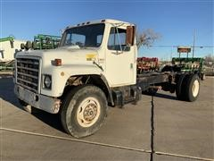 1981 International 1854 Cab & Chassis (Inoperable)