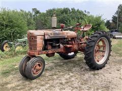 1953 Farmall Super H 2WD Tractor