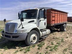2012 International 4300 S/A Grain Truck