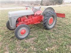 1944 Ford Ferguson 2N 2WD Tractor W/3-Pt Blade