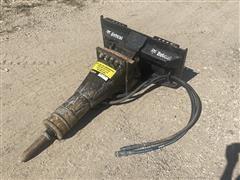 2014 Bobcat S530 175# Jackhammer Skid Steer Attachment