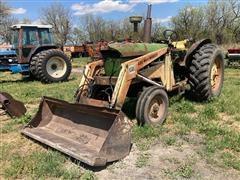 1962 John Deere 4010 2WD Tractor W/loader