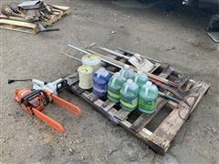 Electric & Gas Chainsaws & Supplies