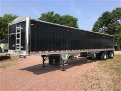 2015 Wilson DWH-550B T/A Spread Axle Grain Trailer