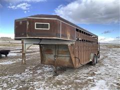 Titan 20' Steel T/A Livestock Trailer
