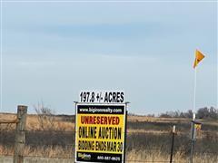 197.8+/- Acres Pratt County, KS