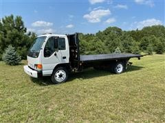 2000 Isuzu NQR S/A Flatbed Truck