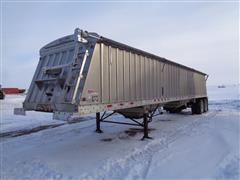 2010 Dakota 1109 - 0292 42' Aluminum Grain Trailer