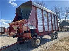 2015 H&S Twin Auger HD 16' Forage Wagon
