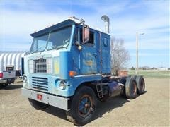 1969 White 7464TDB T/A Cabover Truck Tractor