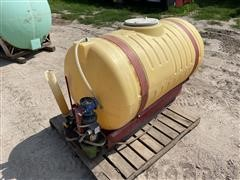 150 Gal Chemigation Tank