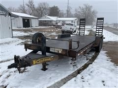 2010 Kaufman T/A Steel Flatbed Trailer