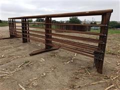 2021 D&S 24' Portable Freestanding Livestock Panels