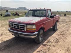 1992 Ford F150 XLT Custom 4x4 Pickup