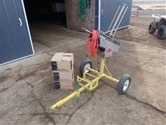 Atlas 12V Clay Pigeon Thrower W/Remote Switch