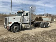 2006 Peterbilt 379 T/A Cab & Chassis