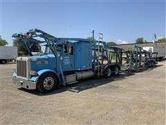 2007 Peterbilt 379 T/A Truck Tractor & T/A Vehicle Transport