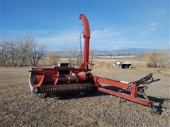 Case IH 881 Pull Type Forage Harvester W/Pickup Head