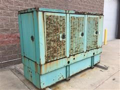 Cummins /Onan 1 & 3-Phase 100Kw Diesel Generator Set