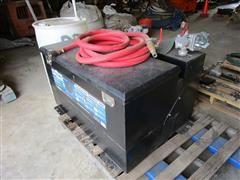 Better Built Combo Fuel Transfer Tank & Storage Box, DEF Tank & Pump
