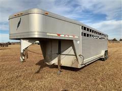 1999 Featherlite T/A Aluminum Livestock Trailer