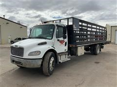 2004 Freightliner Business Class M2-106 S/A Flatbed Truck