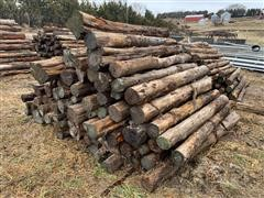 Cedar Cut Posts