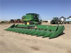 1996 John Deere 1293 Corn Head