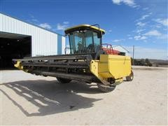 2002 New Holland HW320 Self-Propelled Windrower