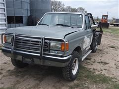 1988 Ford F250 4x4 Bale Bed Pickup