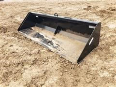 "2020 Industrias America 96"" Wide Bucket Skid Steer Attachment"