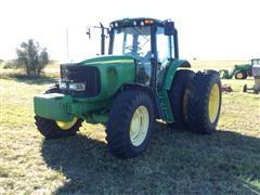 2003 John Deere 7420 MFWD Tractor