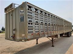 2000 Barrett T/A Livestock Trailer