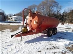Calumet V-1500 Liquid Manure Spreader Tank
