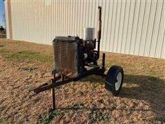 Chevrolet 181 Power Unit On Cart