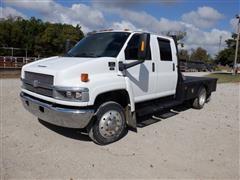 2005 Chevrolet C4500 2WD Crew Cab Flatbed Truck