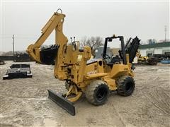 2006 Astec RT560 4x4x4 Trencher W/Backhoe & Backfill Blade