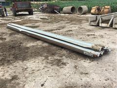 Galvanized Coated Guardrail