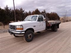 1997 Ford F Super Duty Flatbed Pickup