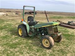 John Deere 770 2WD Tractor (Inoperable)