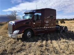 2015 Peterbilt 579 T/A Truck Tractor