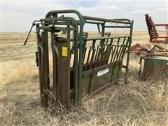 Big Valley Livestock Chute