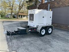 Cummins 35DGBB 35KW Portable/Trailer Mounted Generator