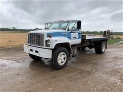 1991 GMC Top Kick Flatbed Truck