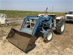 1981 Ford 1900 MFWD Compact Utility Tractor W/Loader