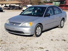 2002 Honda Civic LX 4 Door Car